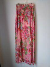 GB Brand Orange Floral Sheer Skirt Size XS