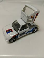 Matchbox Peugeot 205 Turbo 16 1984 White Made in China 1:55