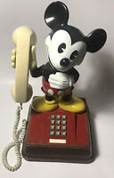 Vintage 1976 Mickey Mouse Phone - Disney Telephone (Works Intermittently)