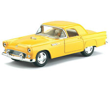 Kinsmart 1955 Ford Thunderbird Diecast Display Toy Car 1:32 KT5319D Yellow