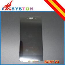 Pantalla COMPLETA LCD Tactil Sony Xperia Z3 D6603, D6643, D6653 Negro Negra