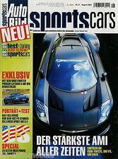 Auto Bild Sports Cars 8 05 2005 Art Viano MR Sweden Shelby Cobra Saleen S7R