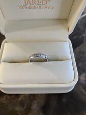 white gold 14k wedding band for women