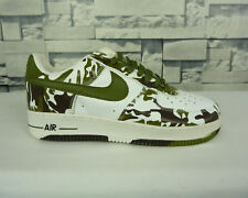 NEW NIKE AIR FORCE 1 ONE CAMOUFLAGE SNEAKERS SIZE 8.5 US DEADSTOCK