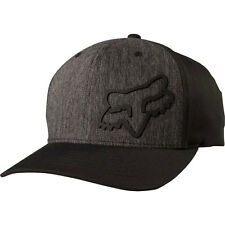 Fox Men's Forty Five 110 Snapback Hat Black Black Streetwear Racing Moto-x