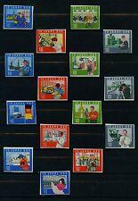 (DDR91) DDR 1964, Michel Kat.1059B-1073B, postfrisch, MK 65,00 €