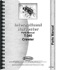 International Harvester T340 Crawler Parts Manual Ih P T340