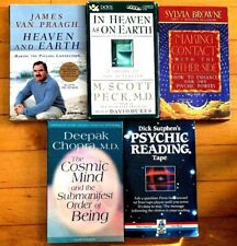 Psychic Reading..Afterlife..Lot Of 5 Cassette Audiobooks..5 Titles..10 Cassettes