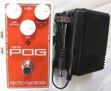 Used Electro-Harmonix EHX Nano Pog Polyphonic Octave Generator Effects Pedal!
