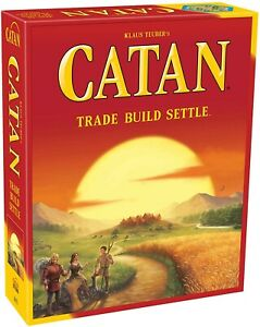 Settlers of Catan - New in Box - Trade Build Settle