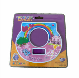 Tot Clock Faceplate: Happily Ever After