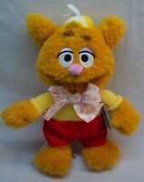 "Disney Store Muppets THE MUPPET BABIES FOZZIE BEAR 12"" Plush STUFFED ANIMAL NEW"