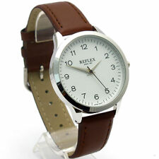 Faux Leather Band Men's Adult Analogue Wristwatches