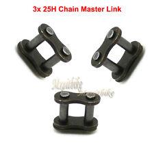 3x 25H Chain Master Link For 33 43 47 49cc 2stroke Mini ATV Pocket Scooter Bike