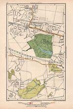 1933 London Map- Welling,Upton,Blendon,Bla ckfen,East Wickham,Halfway Street