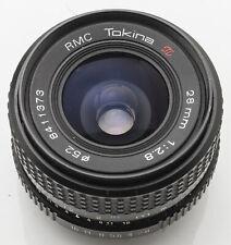 Rmc Tokina 1:2 .8 28mm 2.8 28 mm -- m42