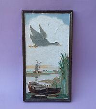 De Porceleyne négociées Joost THOOFT La Fresque Mosaïque Delft moulin à vent Canard Kahn