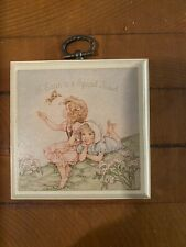 Vintage Hallmark A Sister Is A Special Friend Mini Plaque Wall Decoration