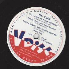 V-Disc No. 824 : Doris Day - Poppa won`t you dance with me