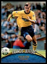Topps Premier Gold 2001 - Everton Francis Jeffers No.50