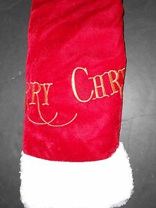 Trim a Home 48in Christmas tree skirt NWT Merry Christmas