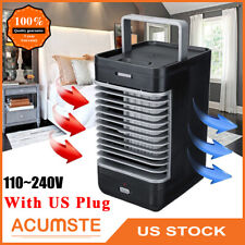 US Portable Mini Air Conditioner Cooler AC Fan Humidifier Artic Bedroom Office