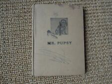 Mr Pupsy by Mildred C. Luckhart, 1941, Extremely Rare Book