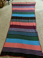 Vintage Hand Crocheted in Wonderful Retro Boho Stripes and Colors