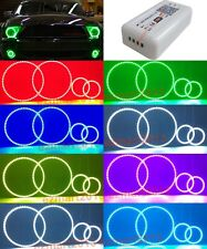 wifi RGB halo rings for Ford Mustang Shelby GT500 07-09 headlight LED angel eyes