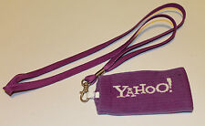 Yahoo! cellulare calzino Portachiavi Lanyard Nuovo (t222)
