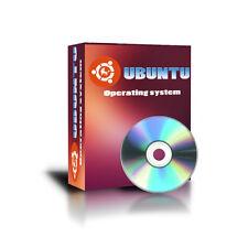 Latest LINUX Ubuntu OS 64-bit alternative to Windows XP, Vista,7 DVD