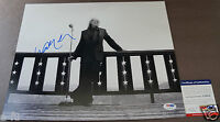 WILLIE NELSON Signed 11x14 Photo PSA/DNA COA Bold Beautiful Clean Blue Autograph