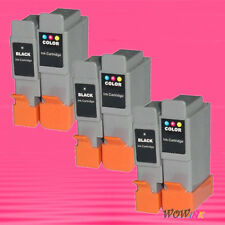 6P BCI-24 BK C INK CARTRIDGE FOR CANON iP1500 MP410 F20