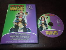 Gregory Popovich Presents: How To Train Your Cats Amazing Performing House Cats