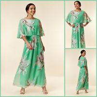 Wallis Maxi DressSize 10 | Green Floral Print | BNWT | £65 RRP | Brand New!