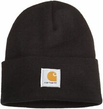 cc167ddb Carhartt A18001 Men's Hat Beanie Cap, One Size - Black