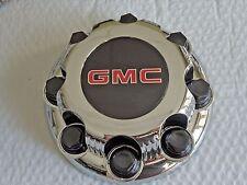 NEW for GMC Chrome Wheel Center Cap Sierra Yukon 2500 8 Lug 8 Bolt Rim Free Ship