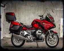 BMW R1200Rt A4 icónica foto impresión moto antigua añejada De
