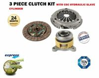 FOR TOYOTA AURIS + VERSO 1.6 1.8 VVTI 2009-> NEW 3 PIECE CLUTCH KIT WITH BEARING