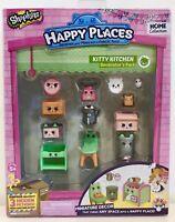 Shopkins Happy Places Kitty Kitchen Decorator Pack Moose BNIB