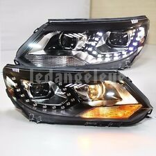 2013-2015 Year Front Lamp For VW Tiguan LED Headlights Projector Lens Lights TLZ