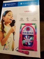 Singing Machine Karaoke System SML505 Pink