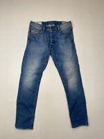 DIESEL TEPPHAR SLIM CARROT Jeans - W29 L28 - Blue - Great Condition - Men's