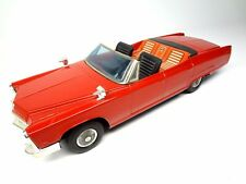 Cadillac KINGSIZE Convertible 1967 1968 Large Vintage Tin Battery model Toy Car