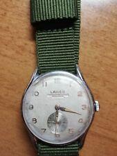Lanco Mod 11 De Lux 17 Rubies Vintage Mechanical Watch, runs perfectly, Cal.1222