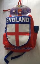 KIDS ENGLAND SLEEPING BAG PACK RUCKSACK TORCH DRINKS BOTTLE ALL IN ONE CAMPING