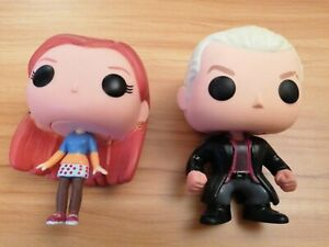 2 Funko Pop! Vinyl Buffy The Vampire Slayer Willow and Spike