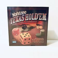 Parker Brothers Yahtzee Texas Holdem Poker Game Dice Game