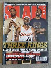 SLAM April 2008 - Lebron James Cavaliers Three Kings Cover - Magazine