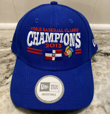 New WORLD BASEBALL CLASSIC WBC 2013 DOMINICAN REPUBLIC DR CHAMPIONS HAT CAP OSFM